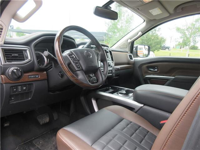 2017 Nissan Titan Platinum Reserve (Stk: 66) in Okotoks - Image 4 of 33