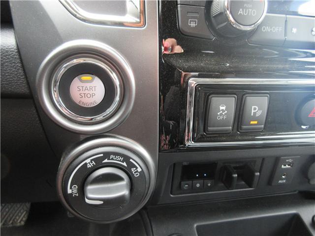 2017 Nissan Titan Platinum Reserve (Stk: 66) in Okotoks - Image 12 of 33