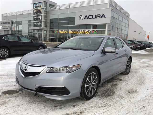 2016 Acura TLX Tech (Stk: A3925) in Saskatoon - Image 1 of 23