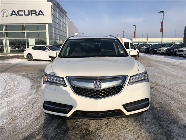 2016 Acura MDX Navigation Package (Stk: A3939A) in Saskatoon - Image 2 of 24
