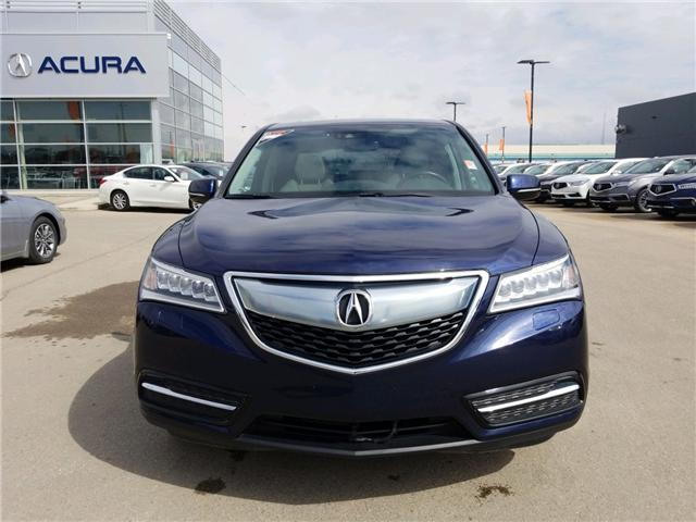 2016 Acura MDX Navigation Package (Stk: A4007) in Saskatoon - Image 2 of 27