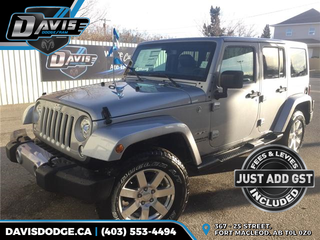 2017 Jeep Wrangler Unlimited Sahara (Stk: 11690) in Fort Macleod - Image 1 of 20