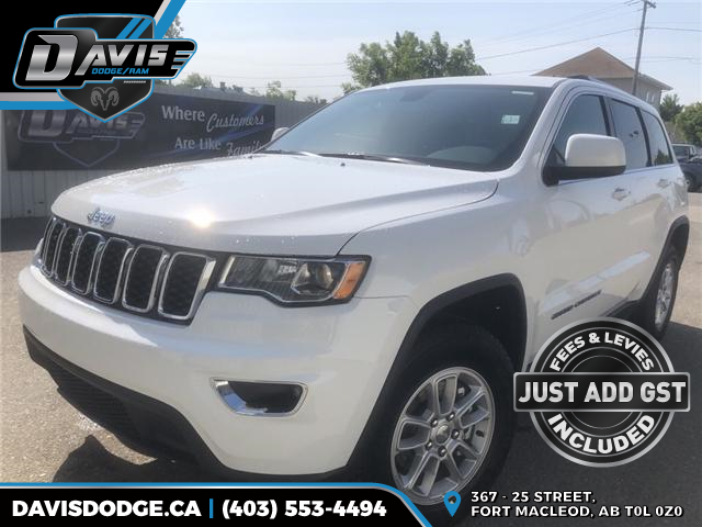 2018 Jeep Grand Cherokee Laredo (Stk: 13055) in Fort Macleod - Image 1 of 18