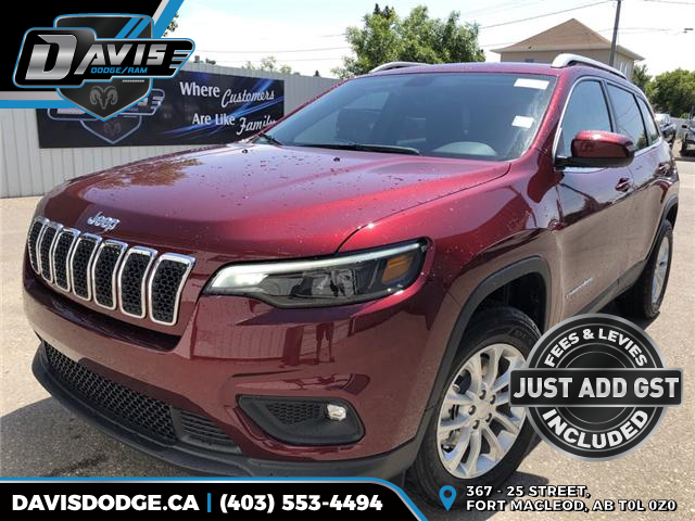 2019 Jeep Cherokee North (Stk: 13116) in Fort Macleod - Image 1 of 19