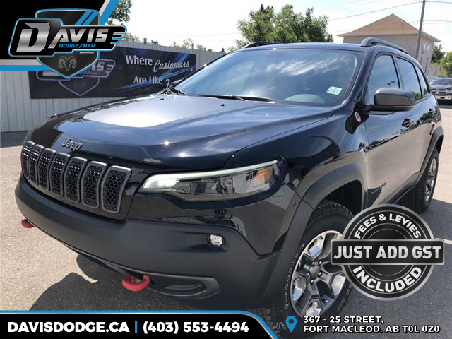 2019 Jeep Cherokee Trailhawk (Stk: 13213) in Fort Macleod - Image 1 of 21