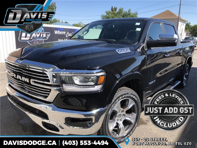 2019 RAM 1500 Laramie (Stk: 13323) in Fort Macleod - Image 1 of 20