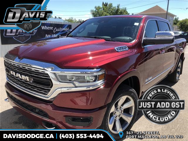 2019 RAM 1500 Limited (Stk: 13321) in Fort Macleod - Image 1 of 21