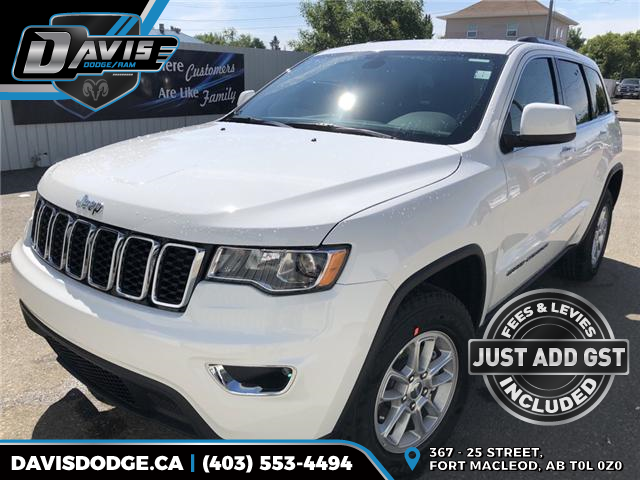 2018 Jeep Grand Cherokee Laredo (Stk: 13319) in Fort Macleod - Image 1 of 18