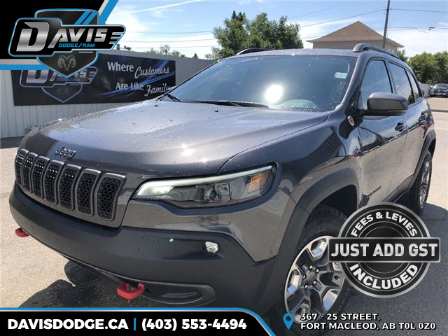 2019 Jeep Cherokee Trailhawk (Stk: 13315) in Fort Macleod - Image 1 of 21