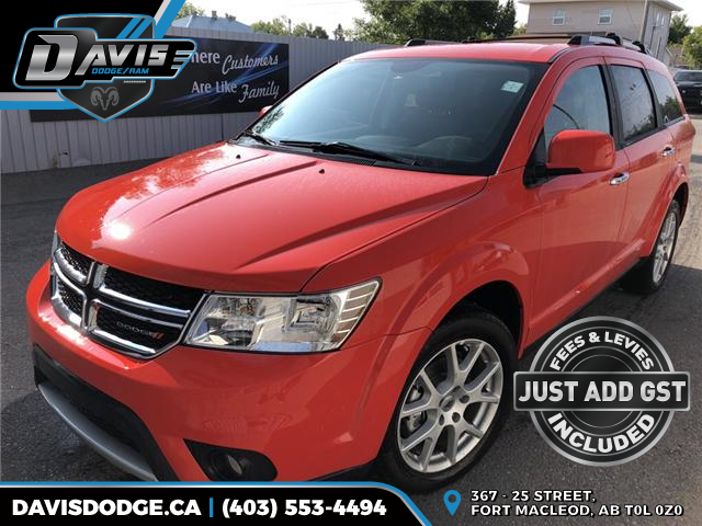 2018 Dodge Journey GT 3C4PDDFG0JT159653 11649 in Fort Macleod