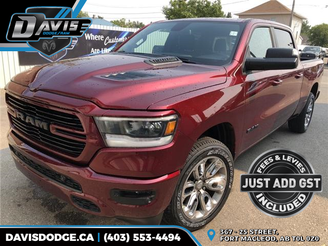 2019 RAM 1500 Sport (Stk: 13460) in Fort Macleod - Image 1 of 19