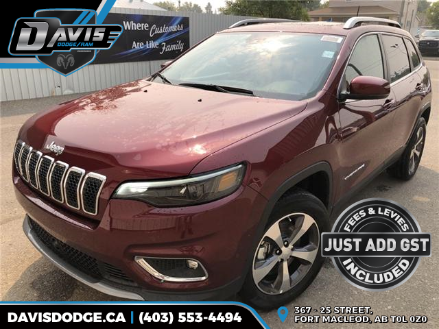 2019 Jeep Cherokee Limited (Stk: 13577) in Fort Macleod - Image 1 of 21