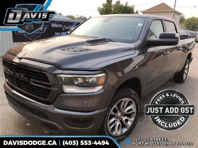 2019 RAM 1500 Sport (Stk: 13610) in Fort Macleod - Image 1 of 20
