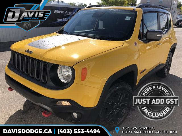 2018 Jeep Renegade Trailhawk (Stk: 13679) in Fort Macleod - Image 1 of 20