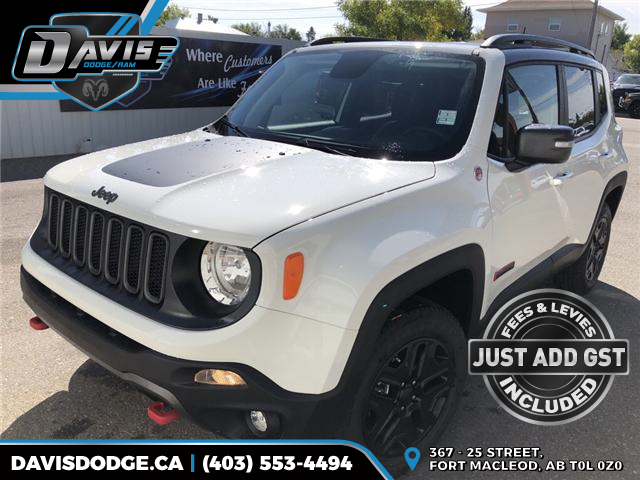 2018 Jeep Renegade Trailhawk (Stk: 13683) in Fort Macleod - Image 1 of 20