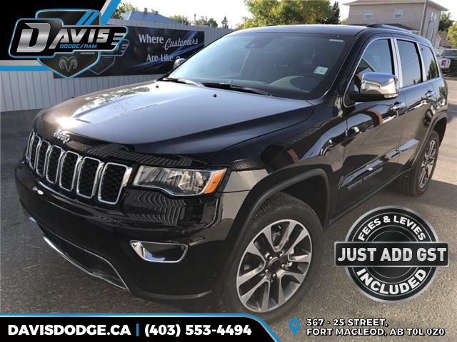 2018 Jeep Grand Cherokee Limited (Stk: 13653) in Fort Macleod - Image 1 of 23
