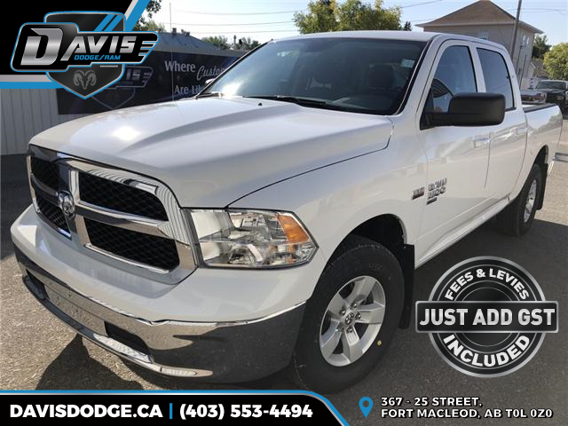 2019 RAM 1500 Classic SLT 1C6RR7LTXKS507305 13654 in Fort Macleod