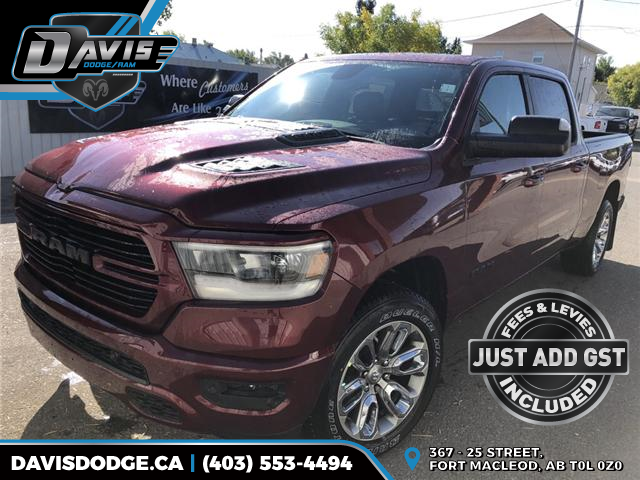 2019 RAM 1500 Sport (Stk: 13631) in Fort Macleod - Image 1 of 20