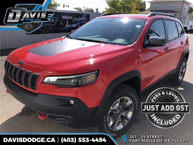 2019 Jeep Cherokee Trailhawk (Stk: 13655) in Fort Macleod - Image 1 of 21
