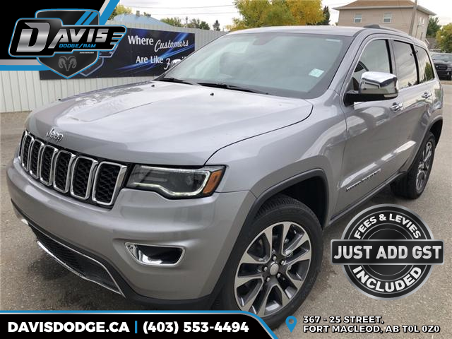 2018 Jeep Grand Cherokee Limited (Stk: 13630) in Fort Macleod - Image 1 of 23