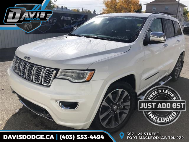 2017 Jeep Grand Cherokee Overland 1C4RJFCT0HC632830 9825 in Fort Macleod