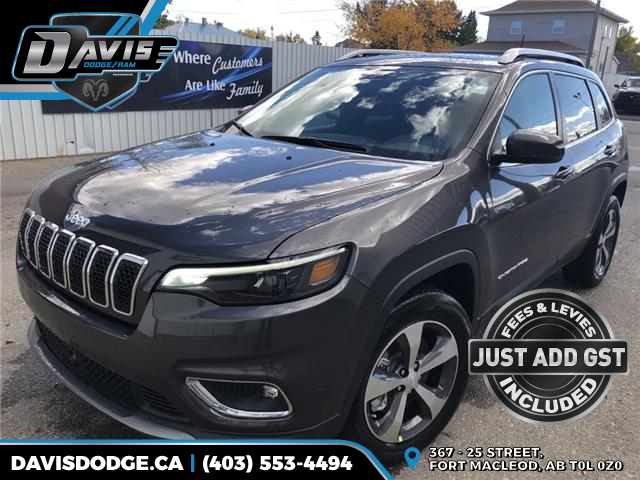 2019 Jeep Cherokee Limited (Stk: 13677) in Fort Macleod - Image 1 of 22