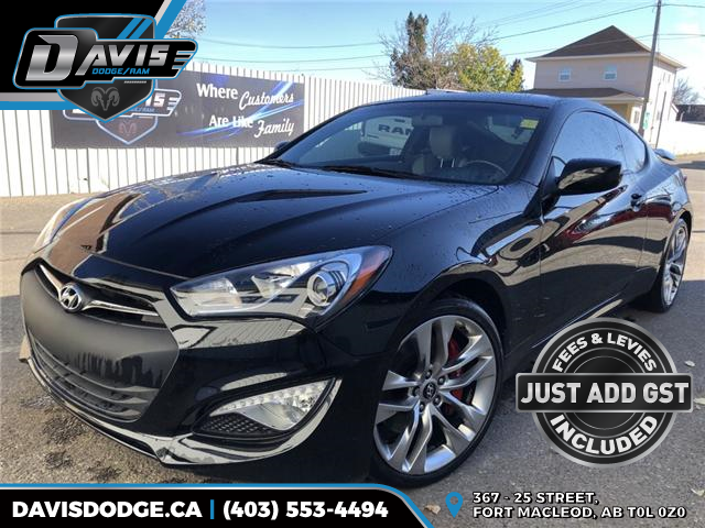 2013 Hyundai Genesis Coupe 2.0T R-Spec (Stk: 13927) in Fort Macleod - Image 1 of 16