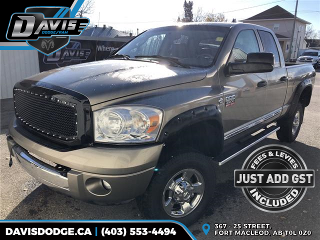 2008 Dodge Ram 2500 Laramie (Stk: 13986) in Fort Macleod - Image 1 of 19