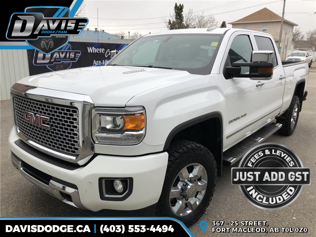 2016 GMC Sierra 3500HD Denali (Stk: 13763) in Fort Macleod - Image 1 of 22