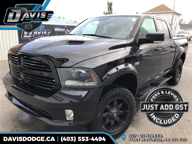 2015 RAM 1500 Sport 1C6RR7MT5FS587777 13991 in Fort Macleod
