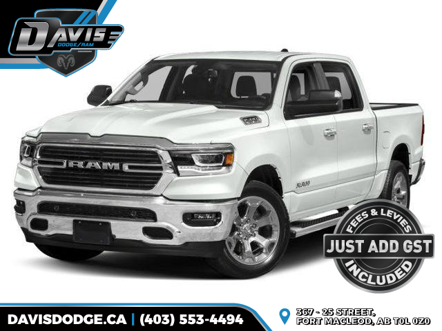 2019 RAM 1500 Tradesman (Stk: 14066) in Fort Macleod - Image 1 of 9