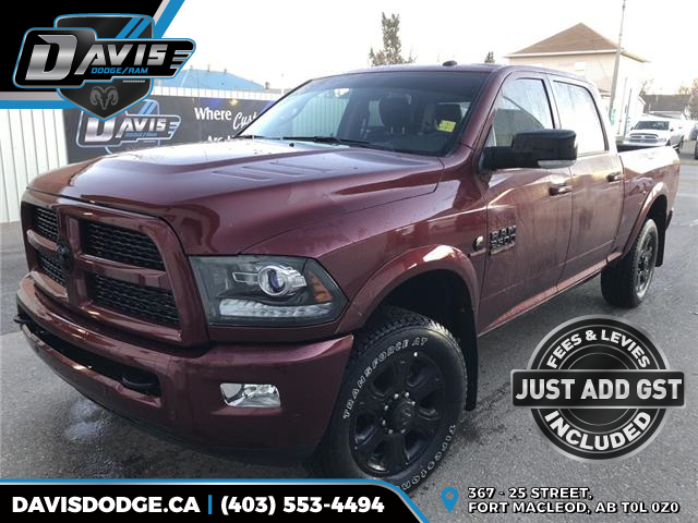 2017 RAM 2500 Laramie (Stk: 14140) in Fort Macleod - Image 1 of 22