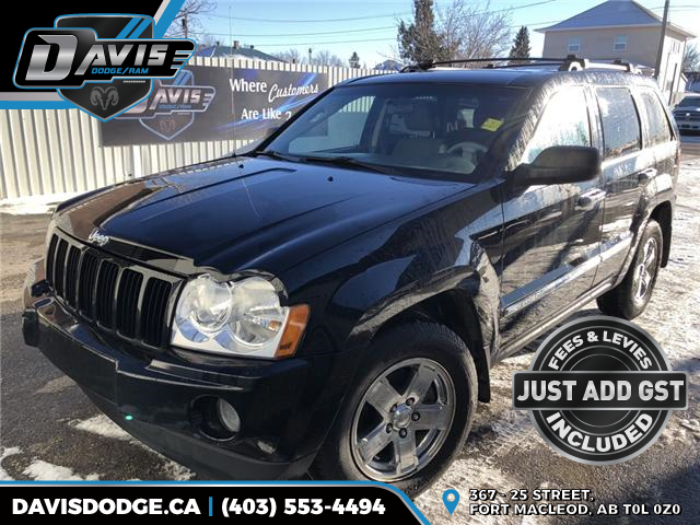 2007 Jeep Grand Cherokee Laredo (Stk: 14134) in Fort Macleod - Image 1 of 17