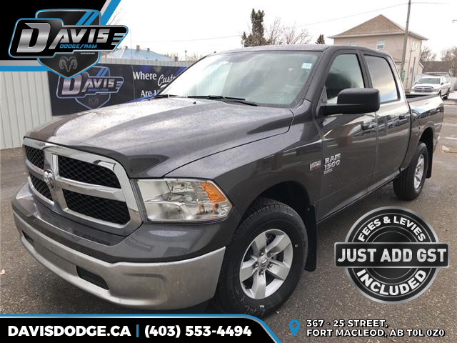 2019 RAM 1500 Classic SLT 1C6RR7LT7KS582060 14195 in Fort Macleod