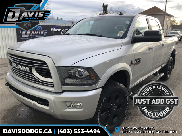2018 RAM 2500 Laramie (Stk: 14239) in Fort Macleod - Image 1 of 23