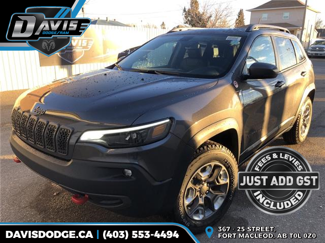 2019 Jeep Cherokee Trailhawk (Stk: 14240) in Fort Macleod - Image 1 of 20