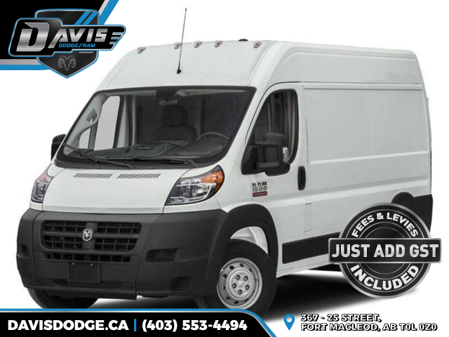 2018 RAM ProMaster 1500 Base (Stk: 14275) in Fort Macleod - Image 1 of 8