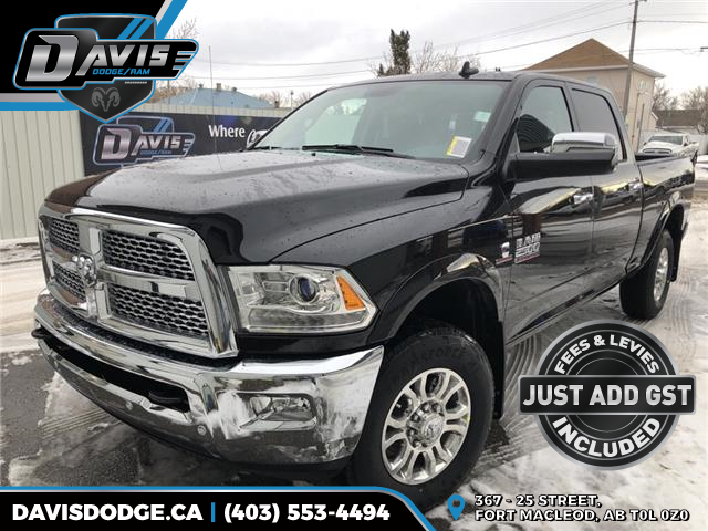 2018 RAM 2500 Laramie (Stk: 14276) in Fort Macleod - Image 1 of 23