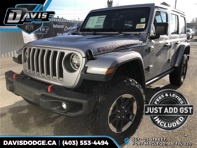 2019 Jeep Wrangler Unlimited Rubicon (Stk: 14289) in Fort Macleod - Image 1 of 20