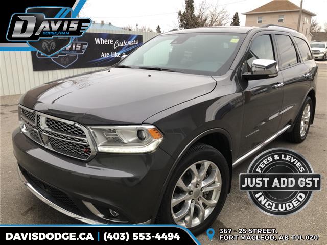 2017 Dodge Durango Citadel (Stk: 14158) in Fort Macleod - Image 1 of 25