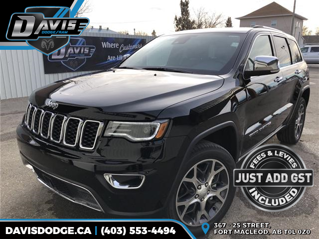 2019 Jeep Grand Cherokee Limited (Stk: 14321) in Fort Macleod - Image 1 of 23