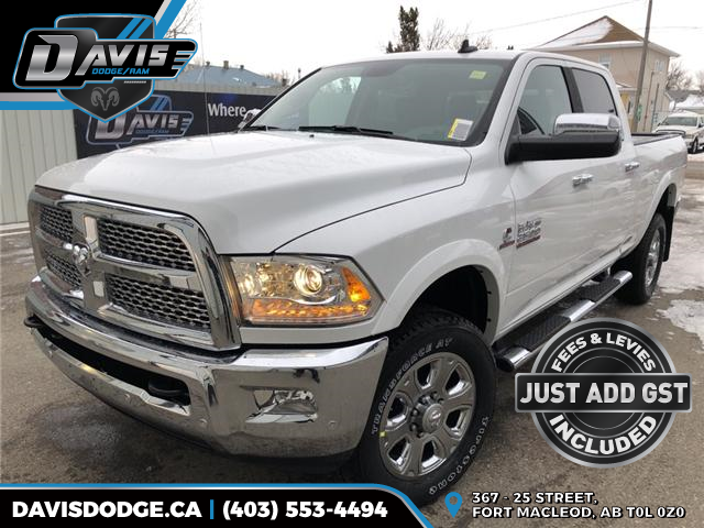 2018 RAM 2500 Laramie (Stk: 14317) in Fort Macleod - Image 1 of 23