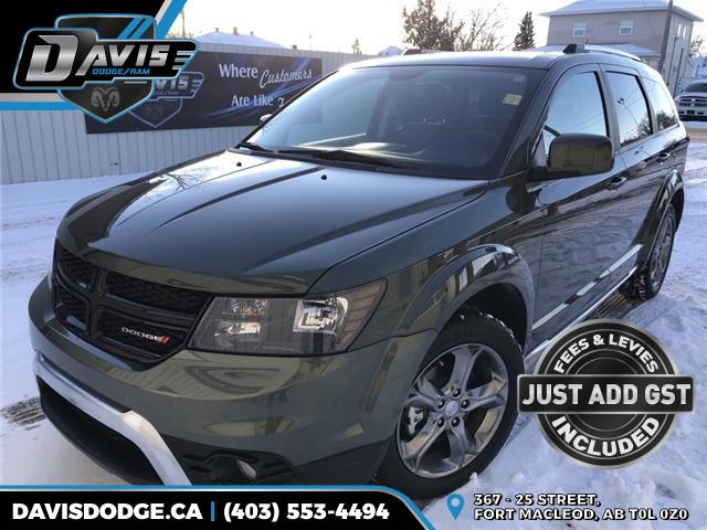 2017 Dodge Journey Crossroad (Stk: 9694) in Fort Macleod - Image 1 of 22
