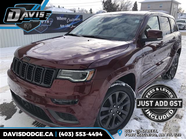2019 Jeep Grand Cherokee Overland (Stk: 14320) in Fort Macleod - Image 1 of 24
