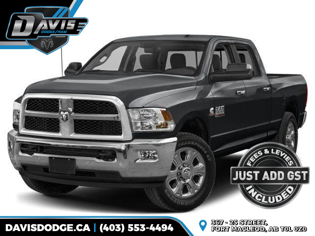 2018 RAM 2500 SLT (Stk: 14407) in Fort Macleod - Image 1 of 9