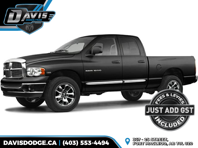 2005 Dodge Ram 1500  (Stk: 14344) in Fort Macleod - Image 1 of 1