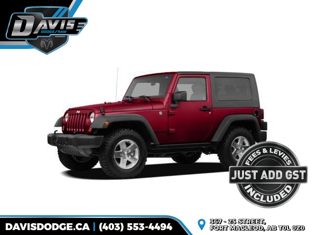 2009 Jeep Wrangler Sahara (Stk: 14465) in Fort Macleod - Image 1 of 2