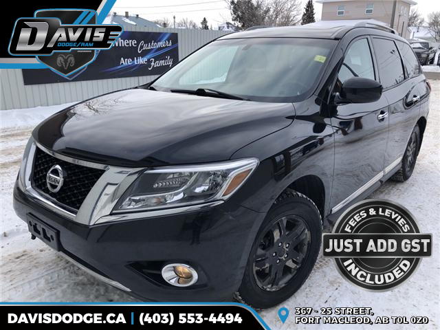 2014 Nissan Pathfinder SV (Stk: 14441) in Fort Macleod - Image 1 of 22