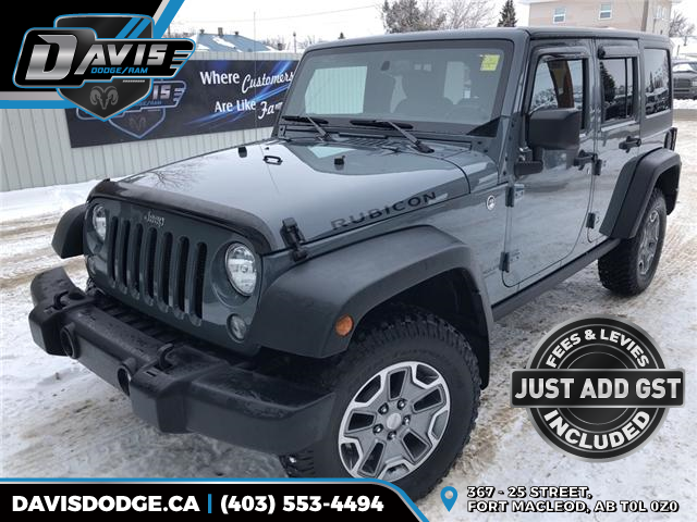 2015 Jeep Wrangler Unlimited Rubicon (Stk: 6358) in Fort Macleod - Image 1 of 18