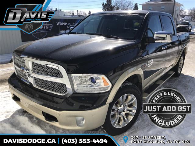 2016 RAM 1500 Longhorn (Stk: 8404) in Fort Macleod - Image 1 of 22